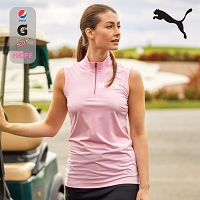 LADIES SLEEVELESS MOCK - PUMA
