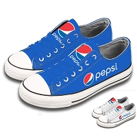 Low Cut Sneakers - Pepsi