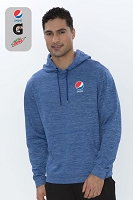 Mens's Dynamic Heather Fleece Hooded Sweatshirt