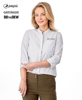 Ladies' HUNTINGTON Three Quarter Shirt