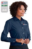 Women's Blended Poplin Shirt......Please Login To see our very Special Pricing