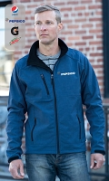 New Premium Collection Men's Crosshatch Weave Softshell Jacket