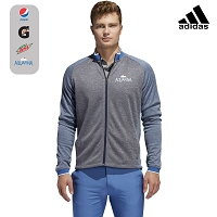 Adidas Men's Midweight Full Zip Textured Jacket