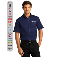 Short Sleeve SuperPro™ React™Twill Shirt