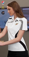 IMPACT LADIES' PERFORMANCE POLYESTER PIQUE COLOUR-BLOCK POLO