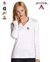Antigua Golf Ladies' Exceed Long Sleeve Polo