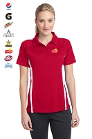 Ladies' Sport-Tek® PosiCharge™ Micro-Mesh Colorblock Polo