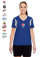 Ladies' Team Spirit Short-Sleeve V-Neck All Sport Jersey Styles
