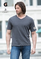 Men's Eurospun V-Neck Tee