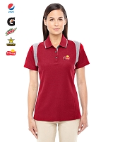 Ladies' DRYTEC20  Performance Colorblock Polo