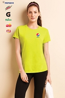 Ladies 100% Polyester Safety Tshirt