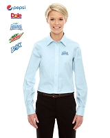 Ladies' Solid Oxford Shirt
