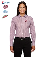 Ladies' Banker Stripe Shirt