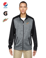 Men's Shuffle Performance Mélange Interlock Jacket
