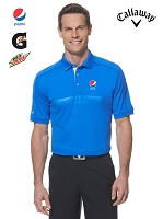 Men's Callaway Embossed Atheletic Polo