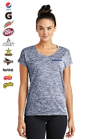 Ladies' Electric Heather Tee