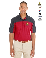 Men's Balance Colorblock Performance Pique Polo