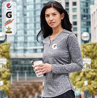 Ladies' Quadra Long Sleeve Top