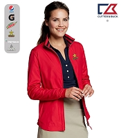 Cutter & Buck Ladies' L/S Nine Iron Full Zip Jacket