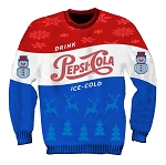 The Pepsi Cola Ugly Holiday Sweater