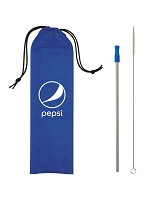 STAINLESS STEEL STRAW KIT - Pepsi