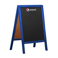 Wooden Chalkboard A Frame Sign - Pepsi....Please Login To see our Special Pricing