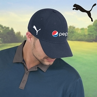 Puma 6 Panel Full Fit Cap - Pepsi......Please Login To see our very Special Pricing