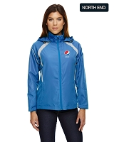 Sirius Ladies' Lightweight Jacket With Embossed Print - Pepsi
