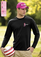 Men's Pro Team Long Sleeve Tee - Awareness