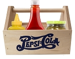 Pepsi Cola Wood Table Caddy.....Please Login To see our Special Pricing