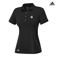 Adidas - WOMEN'S THREE STRIPE JERSEY POLO