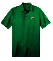 Deluxe Dri Fit Polo - Unisex (Forest Green) - MTN Dew