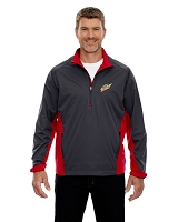 Paragon Men's Laminated Performance Stretch Windshirt - MTN Dew