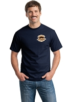 Movember T-Shirt - Navy
