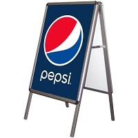 Exhibitor Series 900 Sidewalk Advertiser - Pepsi