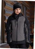 Ladies' 3-In-1 Seam-Sealed Jacket With Insulated Liner - Pepsi