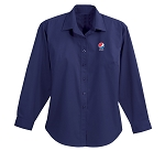 Ladies' NOLAN Long Sleeve Shirt - Pepsi