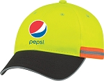 Reflective Safety Fullfit Cap - Pepsi