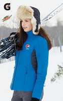 Ladies' Insulated Hybrid Jackets With Heat Reflect Technology