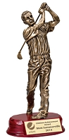 Golfer Resin Award 3