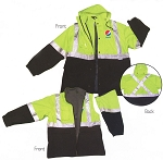 3-IN-1 Safety Rain Reversible Jacket - Pepsi