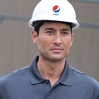 Safety Hard Hat - Pepsi