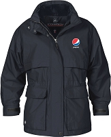 Ladies' Explorer 3-IN-1 System Parka - Pepsi