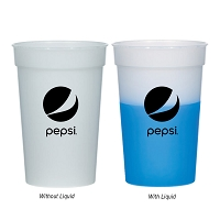 17 Oz. Color Changing Stadium Cup - Pepsi