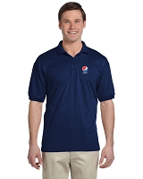 Men's Dry Blend 50/50 Jersey Polo - Navy