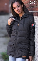 OAKLEY ladies Juniper Down Jacket - Pepsi