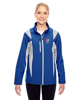 Ladies' Icon Colorblock Soft Shell Jacket - Pepsi
