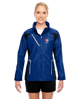 Ladies' Dominator Waterproof Jacket- Pepsi
