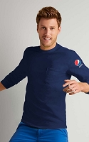 Long Sleeve T-shirt With Pocket - Pepsi
