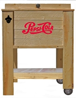 Rustic Wooden Cooler - Login For Special $